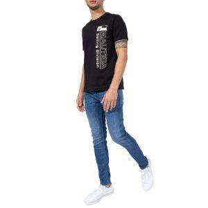 חולצת T נאוטיקה לגברים Nautica 15115V - שחור