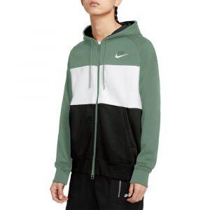 סווטשירט נייק לגברים Nike Air Fleece Hoodie Full Zip - ירוק