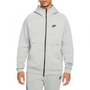 סווטשירט נייק לגברים Nike Full-Zip - אפור