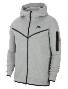 סווטשירט נייק לגברים Nike NSW TECH FLEECE - אפור
