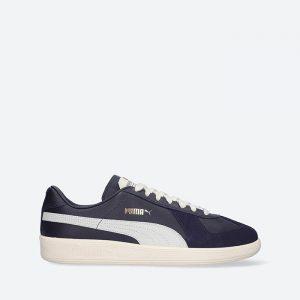 נעלי סניקרס פומה לגברים PUMA Army Trainer Rudolf Dassler Legacy Laundry - שחור/לבן