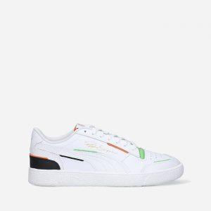 נעלי סניקרס פומה לגברים PUMA Ralph Sampson Lo Joker - לבן/ירוק