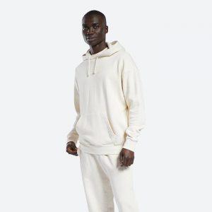 סווטשירט ריבוק לגברים Reebok Classics Natural Dye Hoodie - לבן
