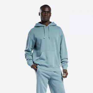 סווטשירט ריבוק לגברים Reebok Classics Natural Dye Hoodie - כחול