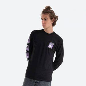 סווטשירט ואנס לגברים Vans Fly Net T-shirt - שחור