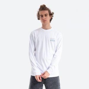 חולצת T ואנס לגברים Vans Moonstone - לבן