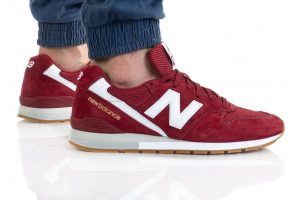 נעלי סניקרס ניו באלאנס לגברים New Balance CM996 - אדום