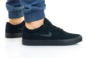 נעלי סניקרס נייק לגברים Nike SB CHRON 2 CNVS - שחור מלא
