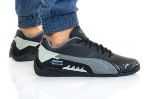 נעלי סניקרס פומה לגברים PUMA FERRARI DRIFT CAT DELTA - שחור/אפור