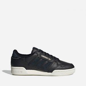 נעלי סניקרס אדידס לגברים Adidas Originals Continental 80 - שחור