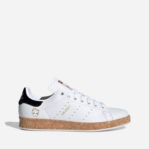 נעלי סניקרס אדידס לגברים Adidas Originals Originals x Marvel Stan Smith W - לבןחום
