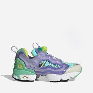 נעלי סניקרס אדידס לגברים Adidas Originals Originals x Reebok Zx Fury - סגול/צבעוני