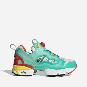 נעלי סניקרס אדידס לגברים Adidas Originals Originals x Reebok Zx Fury - טורקיז