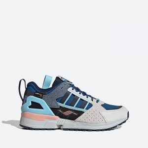 נעלי סניקרס אדידס לגברים Adidas Originals ZX 10000 Crater Lake National Park - כחול