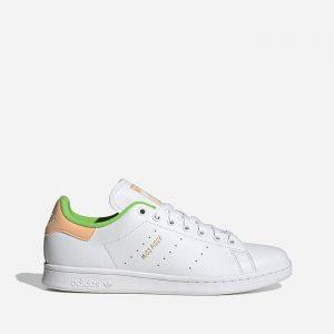 נעלי סניקרס אדידס לגברים Adidas Originals x Disney Stan Smith - לבן/צהוב