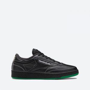 נעלי סניקרס ריבוק לגברים Reebok Club C 85 Human Rights Now - שחור