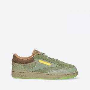 נעלי סניקרס ריבוק לגברים Reebok Club C - ירוק