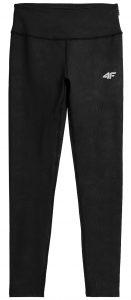 מכנסיים ארוכים פור אף לנשים 4F H4Z21 SPDF018 - שחור