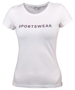חולצת אימון פור אף לנשים 4F H4Z21 TSD014 - לבן