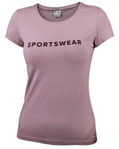 חולצת אימון פור אף לנשים 4F H4Z21 TSD014 - ורוד בהיר