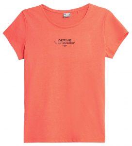 חולצת T פור אף לנשים 4F H4Z21 TSD020 - כתום