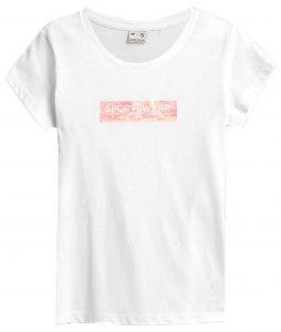 חולצת T פור אף לנשים 4F H4Z21 TSD023 - לבן