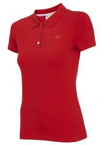 חולצת פולו פור אף לנשים 4F NOSH4 TSD008 - אדום