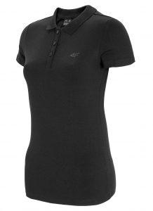 חולצת פולו פור אף לנשים 4F NOSH4 TSD008 - שחור