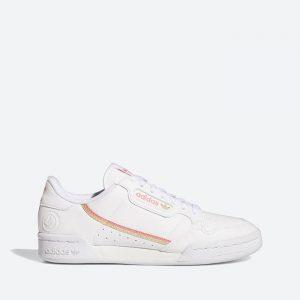 נעלי סניקרס אדידס לנשים Adidas Continental 80 Vegan - לבן