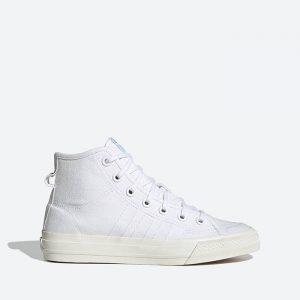 נעלי סניקרס אדידס לנשים Adidas Nizza Hi RF - לבן
