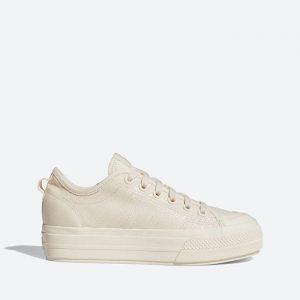 נעלי סניקרס אדידס לנשים Adidas Nizza Rf Platform - בז'