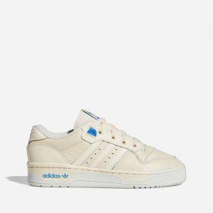 נעלי סניקרס אדידס לנשים Adidas Originals Originals Rivalry Lo W Premium - בז'