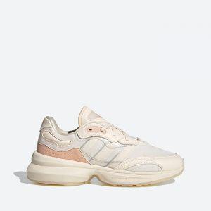 נעלי סניקרס אדידס לנשים Adidas Originals Zentic - בז'