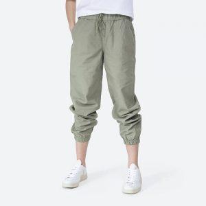 מכנס ברמודה קונברס לנשים Converse MEN'S PANTS CONVERSE W GO TO WOVEN JOGGER - ירוק