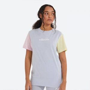 חולצת T אלסה לנשים Ellesse Buonanotte - צבעוני בהיר
