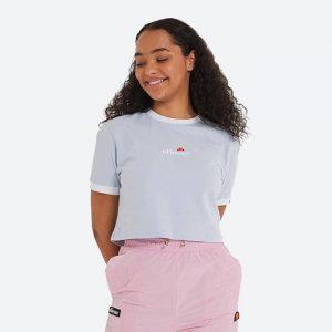 חולצת T אלסה לנשים Ellesse Derla Crop - כחול