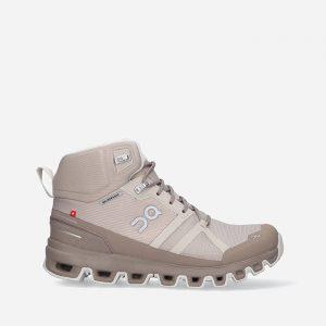 נעלי טיולים און לנשים On Cloudrock Waterproof - צבעוני כהה