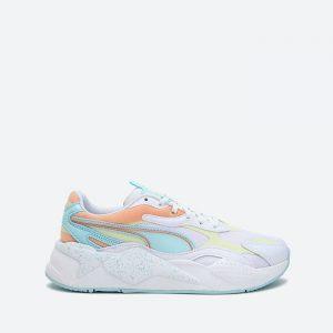 נעלי סניקרס פומה לנשים PUMA RS-X3 Pastel Mix - לבן