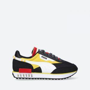 נעלי סניקרס פומה לנשים PUMA x Peanuts Future Rider - שחור
