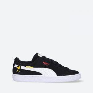 נעלי סניקרס פומה לנשים PUMA x Peanuts Suede Classic XXI - שחור