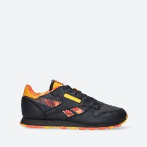 נעלי סניקרס ריבוק לנשים Reebok Cl Leather - שחור