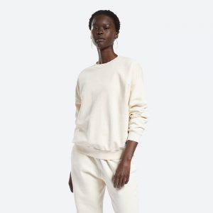 חולצת T ריבוק לנשים Reebok Classics Natural Dye - לבן