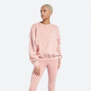 חולצת T ריבוק לנשים Reebok Classics Natural Dye - ורוד