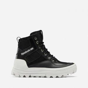 נעלי סניקרס ריבוק לנשים Reebok Club C Cleated Mid - שחור