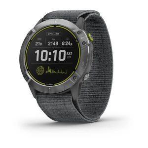 שעון גרמין לגברים Garmin Enduro Solar - אפור כהה