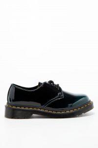 נעלי אלגנט דר מרטינס  לנשים DR Martens Vegan 1461 - ירוק כהה