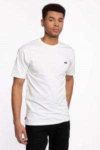חולצת T ואנס לגברים Vans OFF THE WALL CLAS - לבן