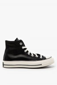 נעלי סניקרס קונברס לגברים Converse TRAMPKI CONVERSE - שחור/לבן