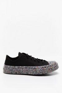 נעלי סניקרס קונברס לנשים Converse Chuck 70 Knit Low Top - שחור