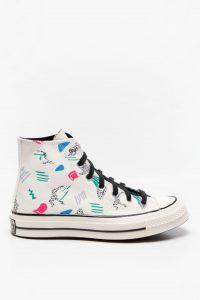 נעלי סניקרס קונברס לנשים Converse CHUCK TAYLOR 70 ARCHIVE - צבעוני/לבן